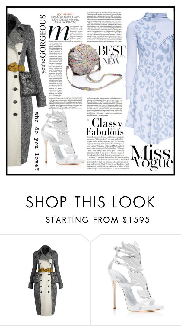 """""""Who do you love?"""" by mark-874 ❤ liked on Polyvore featuring Burberry, Giuseppe Zanotti and Lattori"""