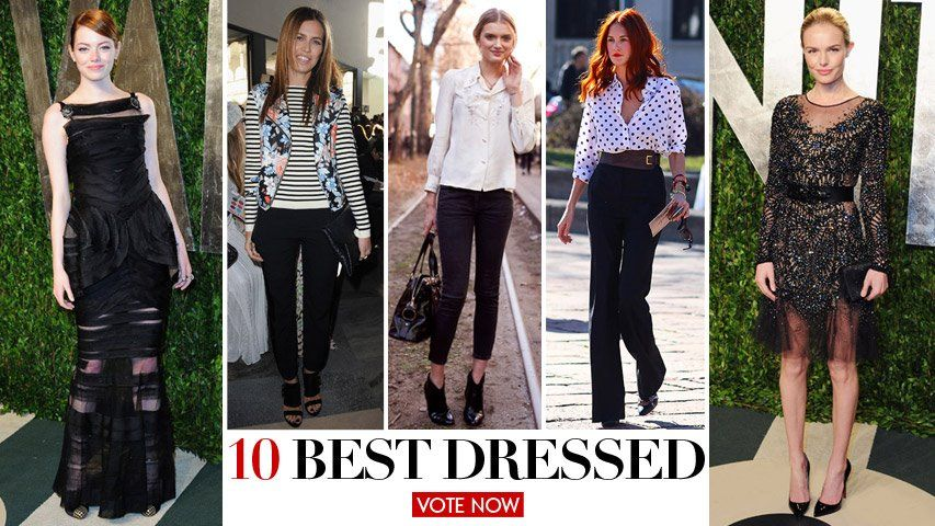 10 Best Dressed: Fade to Black