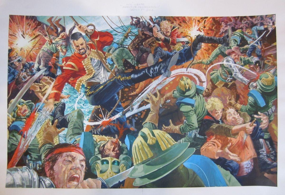Artwork by a favourite uncle-J.M.Burns