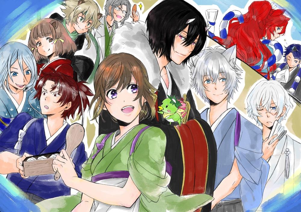 Anime Kakuriyo no Yadomeshi Wallpaper in 2020 Anime