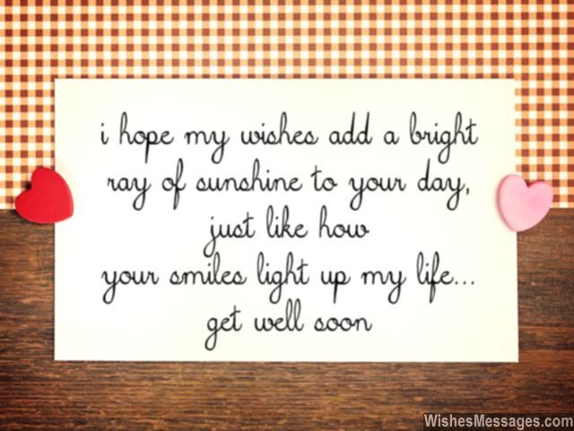 Get Well Soon Messages For Boyfriend Quotes And Wishes The Love