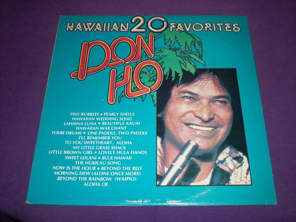Don Ho 20 Hawaiian Favorites Rare 12 Vinyl Lp Record Near Mint