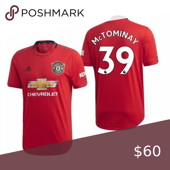 Manchester United Scott Mctominay Red Jersey Whether You Go To A Make Up Party Or Wear It To Support Your Favorite Tame Gam In 2020 Jersey Tee Shirts Manchester United