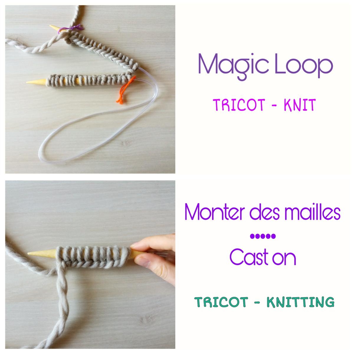 Tuto Monter Des Mailles Au Tricot Magic Loop Cast On