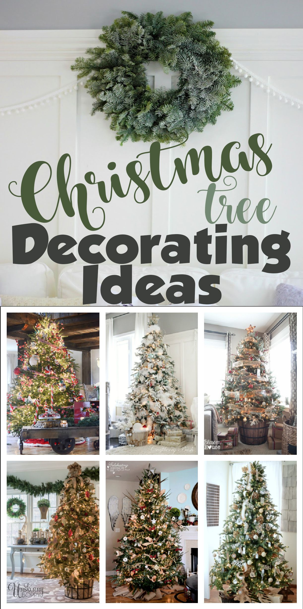 10 Stunning Christmas Trees - Unskinny Boppy | Hometalk: DIY ...