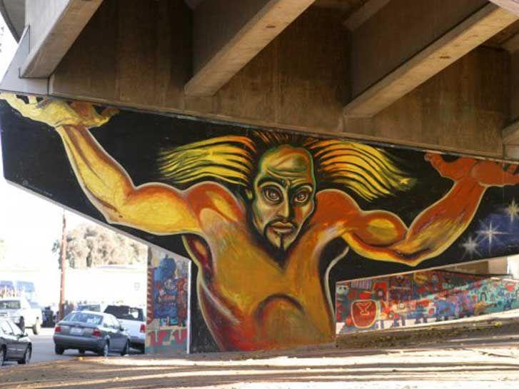 Chicano park mural colossus street art chicano park art