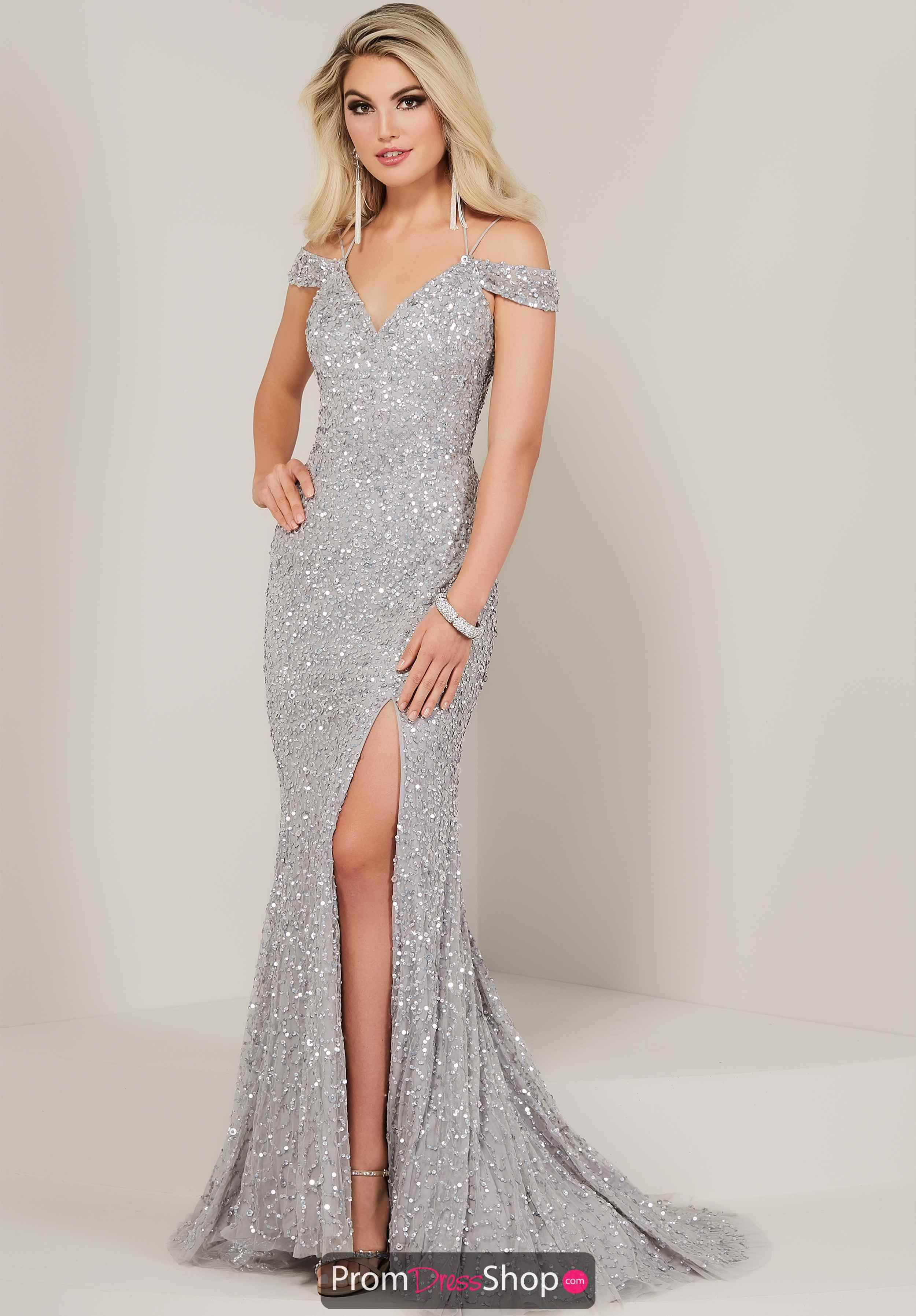 9b35617e5879 Tiffany Off the Shoulder Dress 16335 in 2019