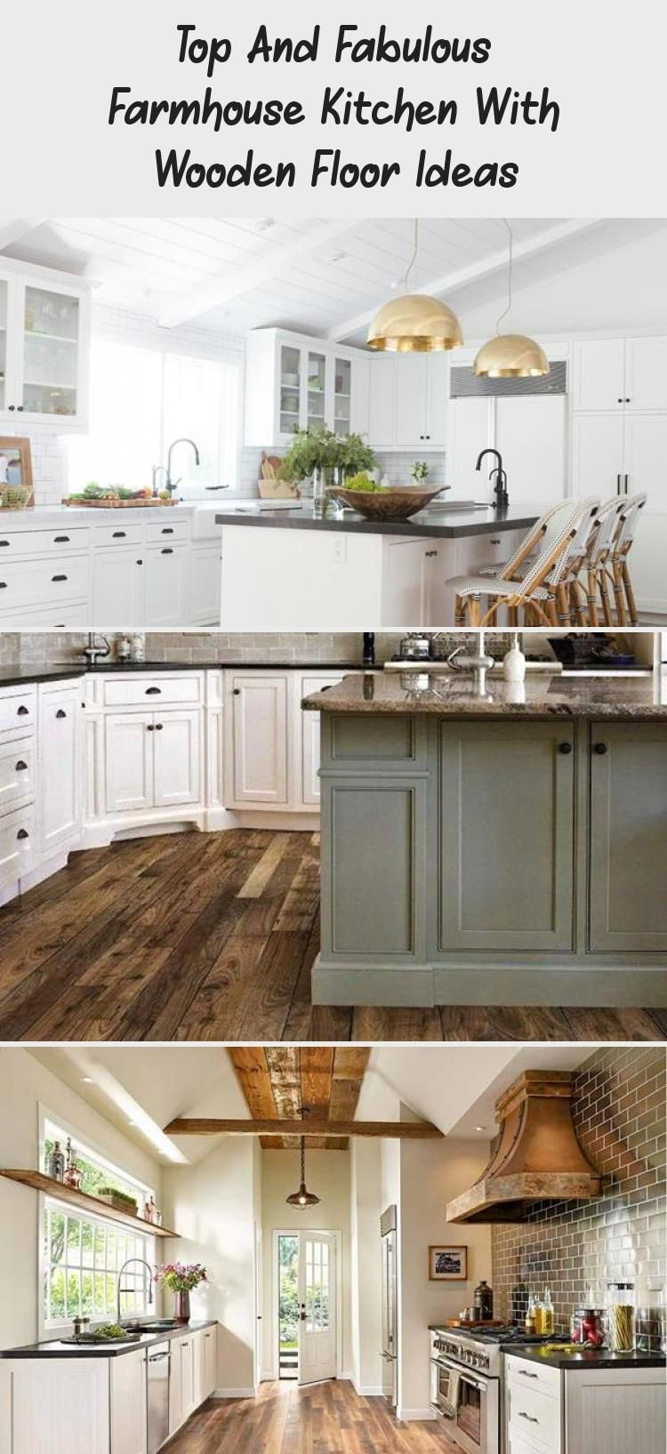 Top And Fabulous Farmhouse Kitchen With Wooden Floor Ideas – DECORATION Kitchen