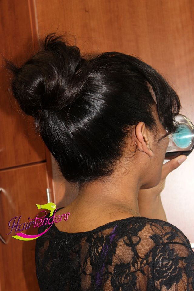 Sew In High Ponytail