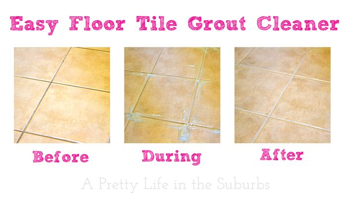 Easy And Cheap Tile Floor Grout Cleaner Apparently Fairy Or