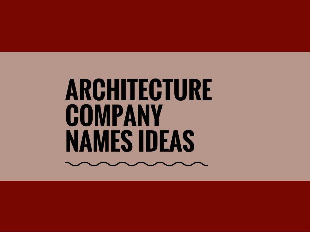 Interior Design Names Ideas