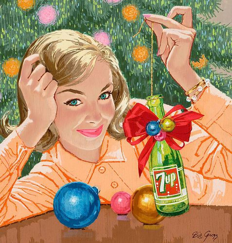 vintage 7 up christmas ad bill gregg 1500 free paper dolls christmas gifts artist arielle gabriels the international paper doll society also free paper