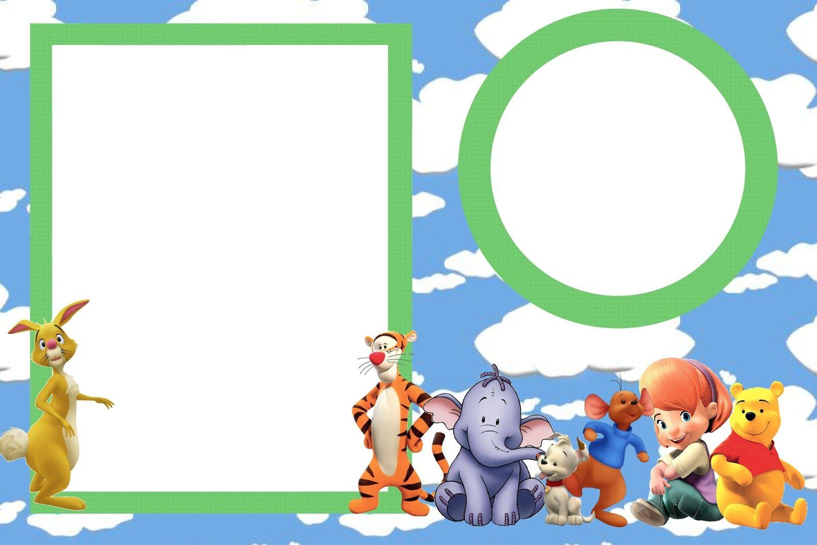 Tarjetas De Cumpleaños Winnie Pooh Para Imprimir Para El