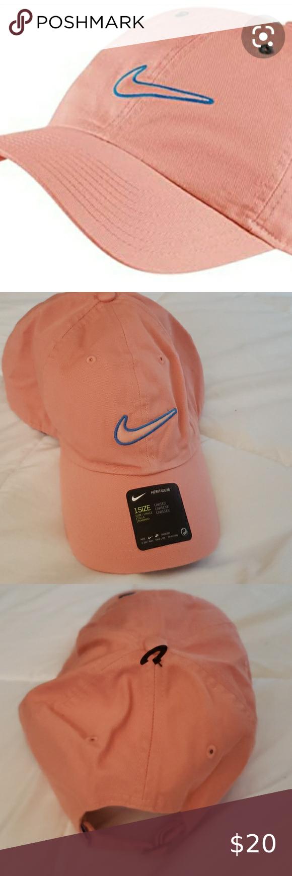 Nike Sportswear Essentials Heritage86 Hat Salmon Nike Sportswear Sportswear Fashion
