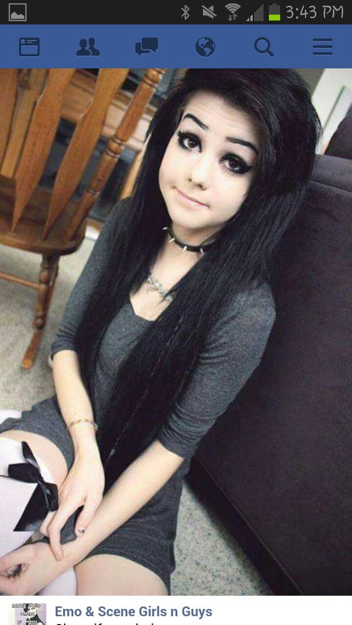 Pin By Stormy Iglehart On Things I Love Pinterest - Emo girl hairstyle video