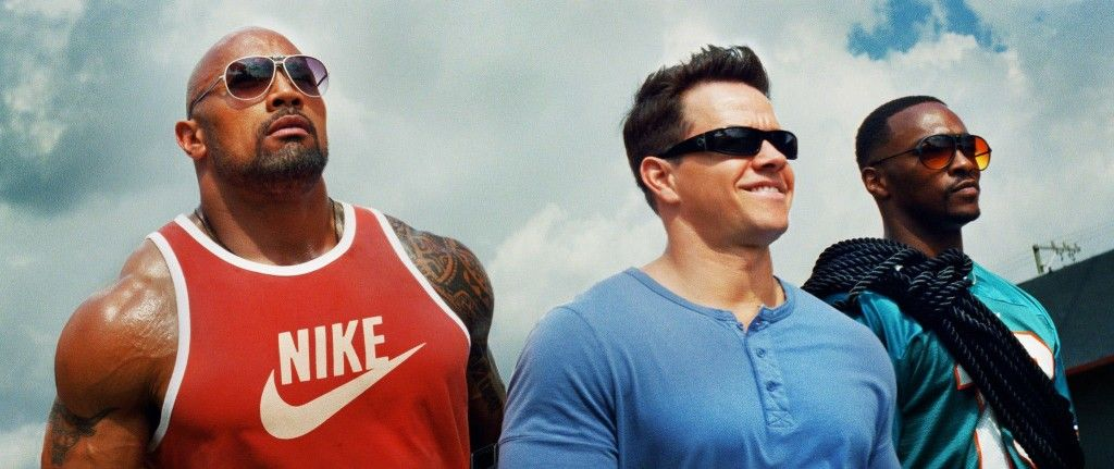 Do you smell what The Rock is cookin'!? Well, Marky Mark sure does. Mark Wahlberg and Dwayne Johnson go back