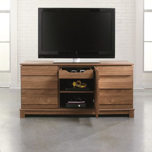 Sauder Soft Modern Tv Stand All Modern Furniture Modern Tv