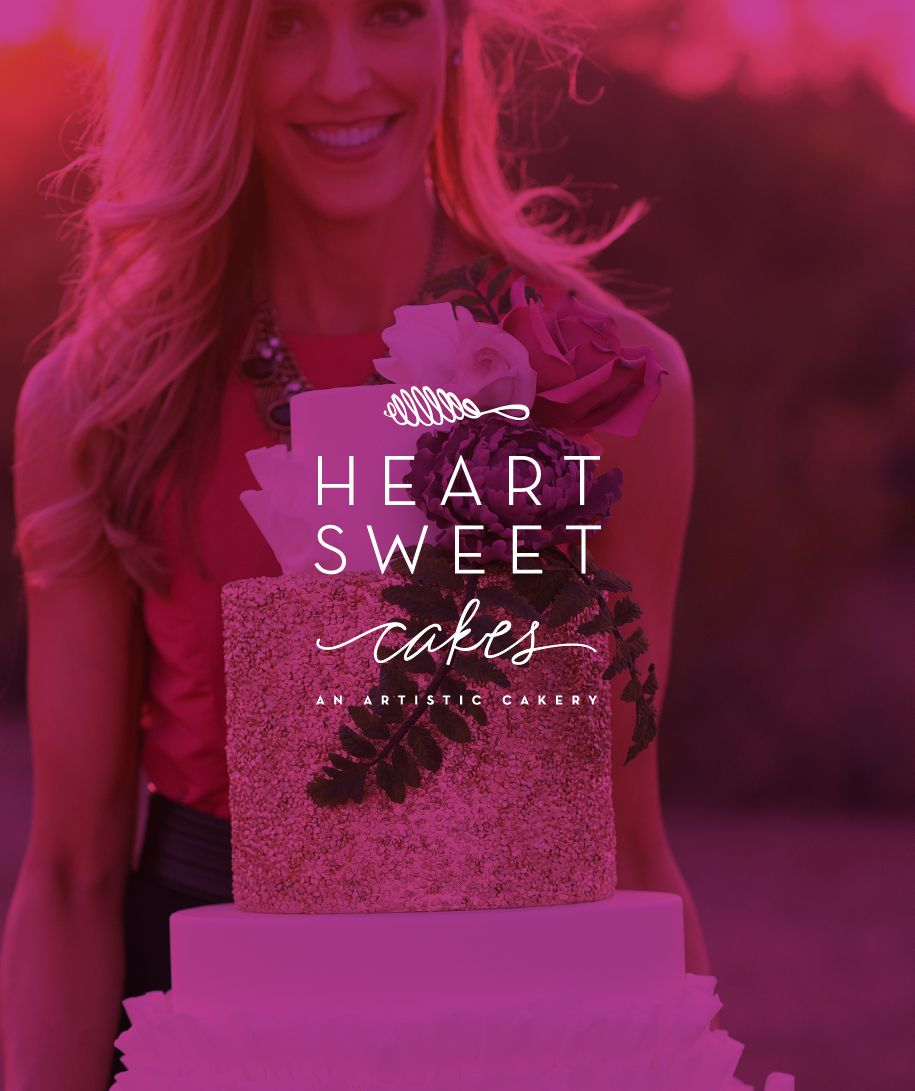 A Sweet Brand Reveal / Heartsweet Cakes : Grit & Wit