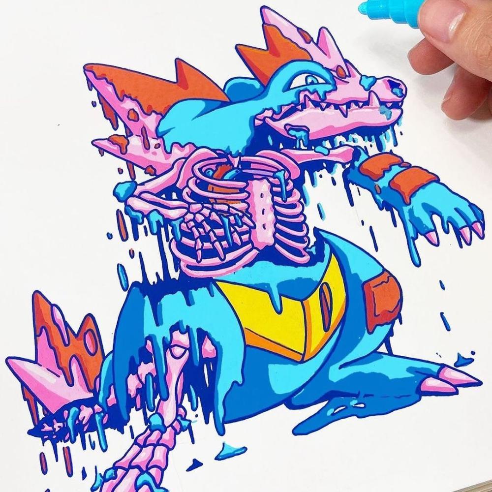 Posca Uk Posca Uk Instagram Photos And Videos In 2021 Drawing Artwork Doddle Art Doodle Drawings