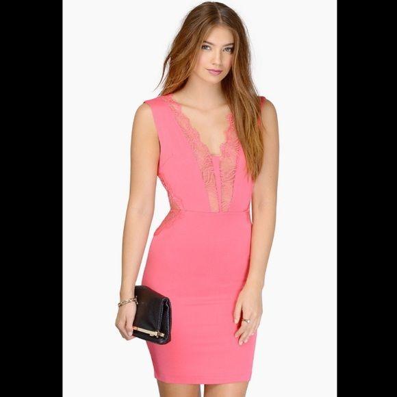 f353f4cf9e Midi dress with low cut front back midi dresses coral jpg 580x580 Low cut  front and