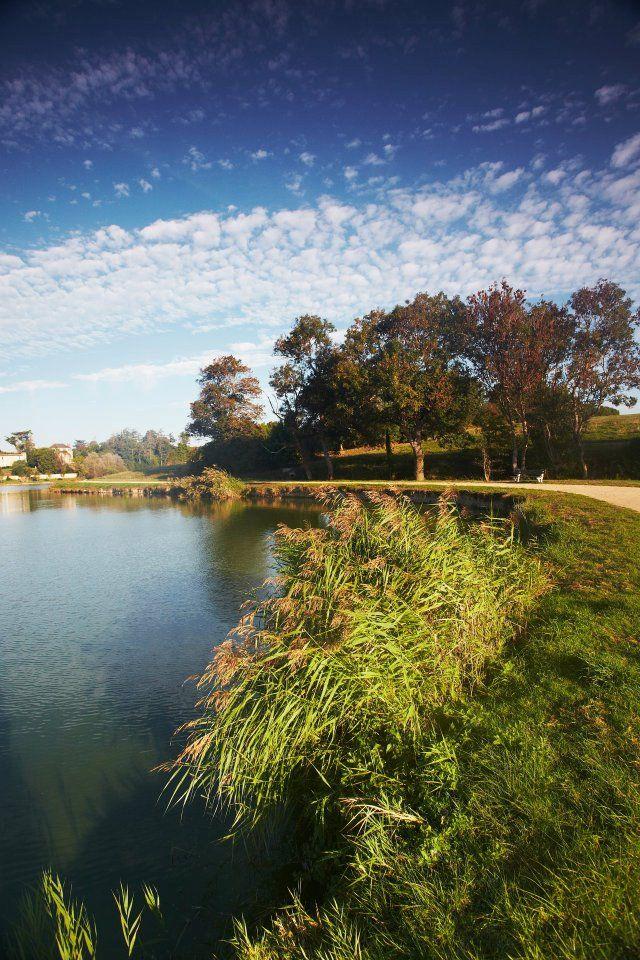 Plan d'eau par le photographe: A. LAMOUREUX – à Talmont Saint Hilaire.