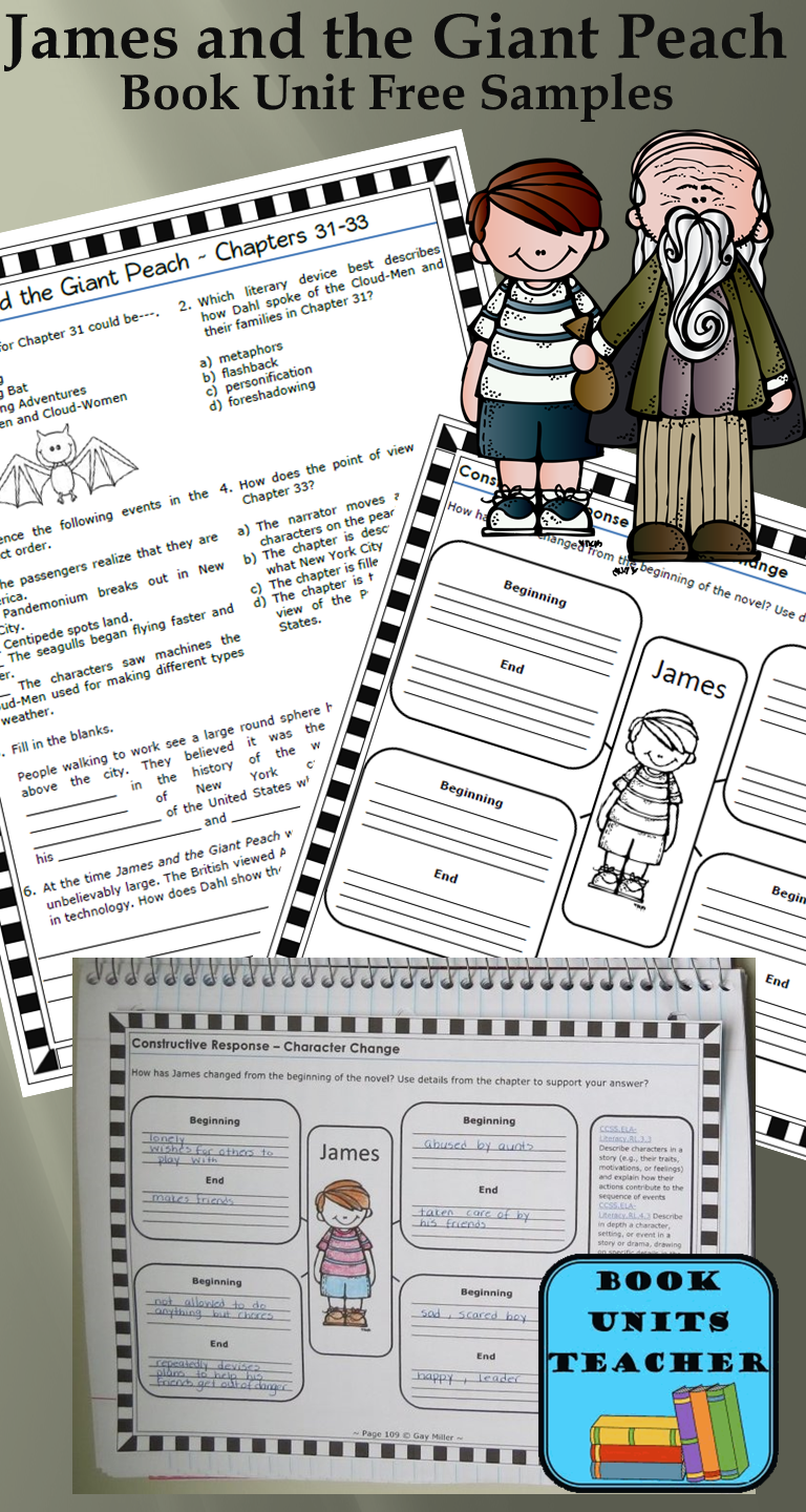Workbooks the twits worksheets ks2 : Teaching James and the Giant Peach | Peach, Books and Free