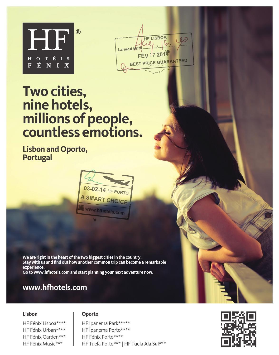 HF Hotéis Fénix - 10th Anniversary - Print Ad | Hotel ads ...