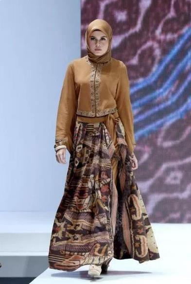 Model Gamis Batik Kombinasi Blazer 2018 Batik Fashion