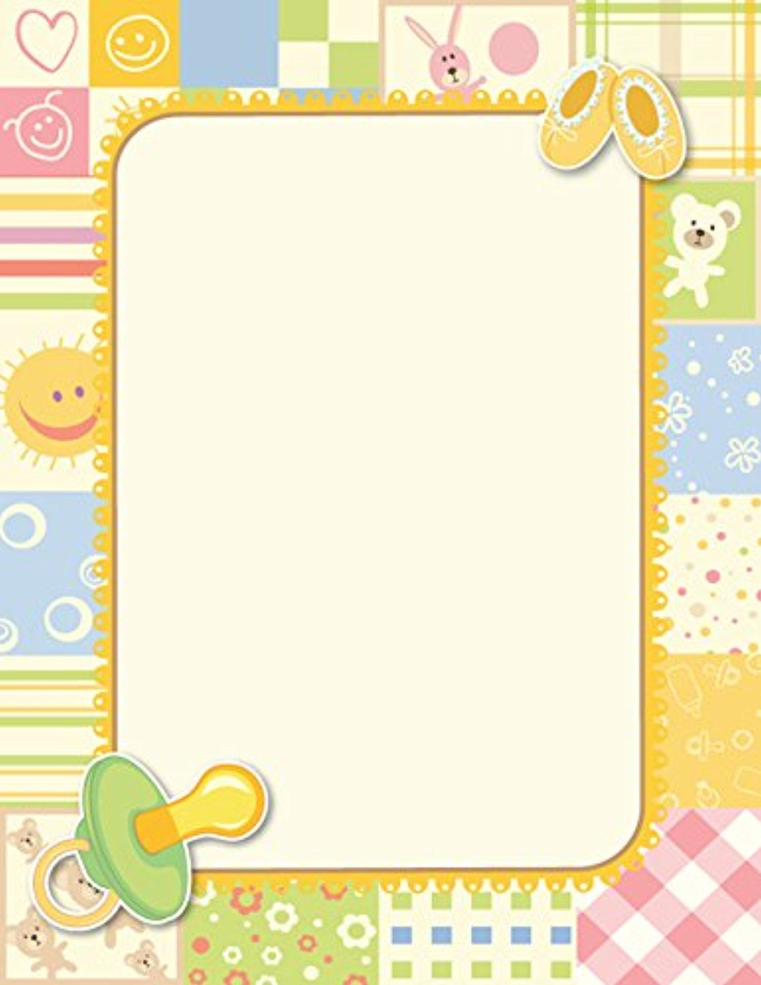 Geographics Design Paper Letterhead With 48454 Awesome Products Selected By Anna Churchill Baby Quilts Baby Scrapbook Baby Stationery