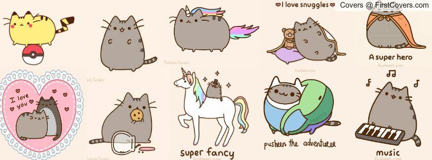 Facebook Cat Pusheen