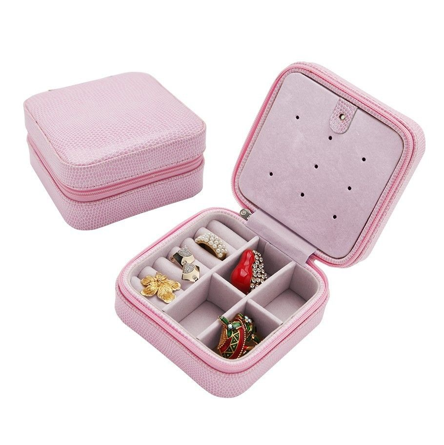Jewelry Box Necklace Earring Jewellery Container Boxes Train Makeup