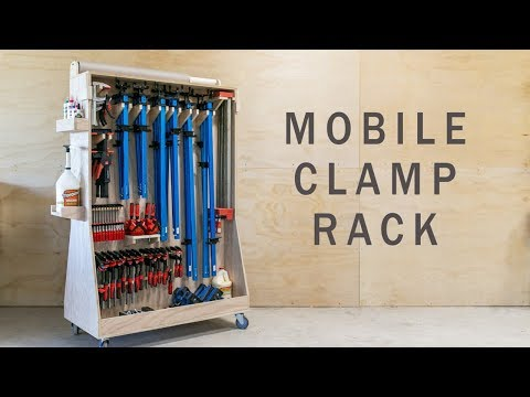 Ultimate Mobile Clamp Rack Youtube Clamp Storage