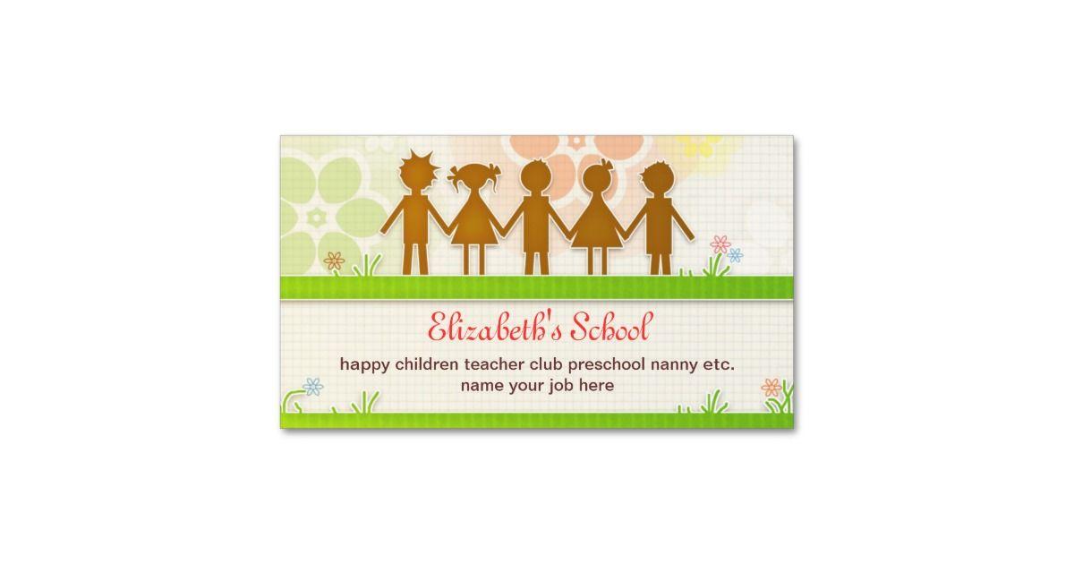 school business card | Zazzle