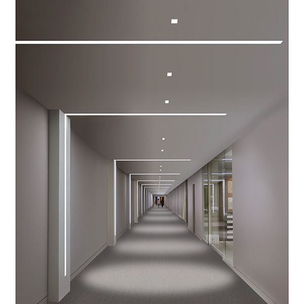Alternate Elevator Landing Cover Lighting With Down Lights Pure
