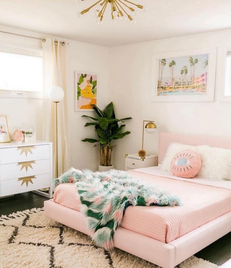 Boho Style Ideas For Bedroom Decors Idee Chambre Idee Deco