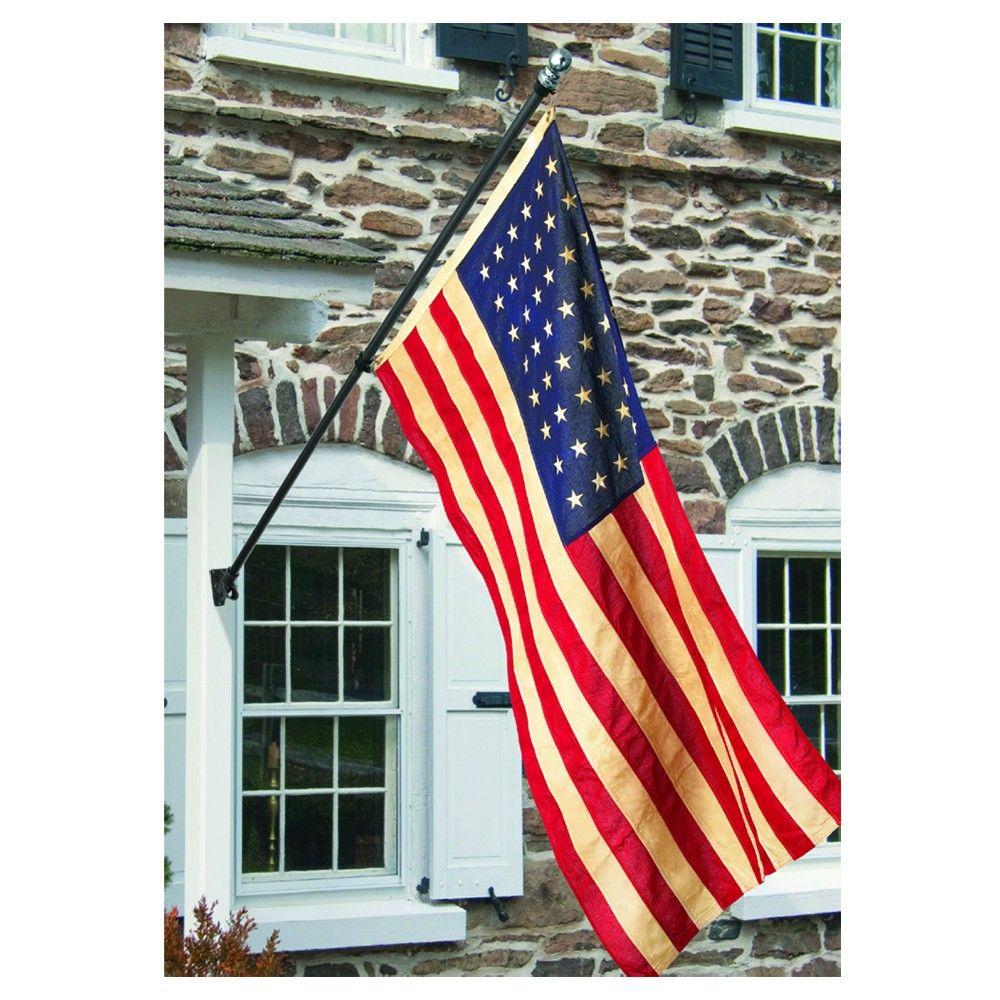 Banner Flag Pole Kit Black Flag Pole Kits American Flag Flag Pole