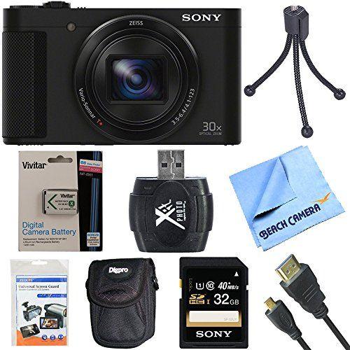 Sony Cyber Shot Dsc Hx90v B Dsc Hx90v Digital Camera Camera Digital