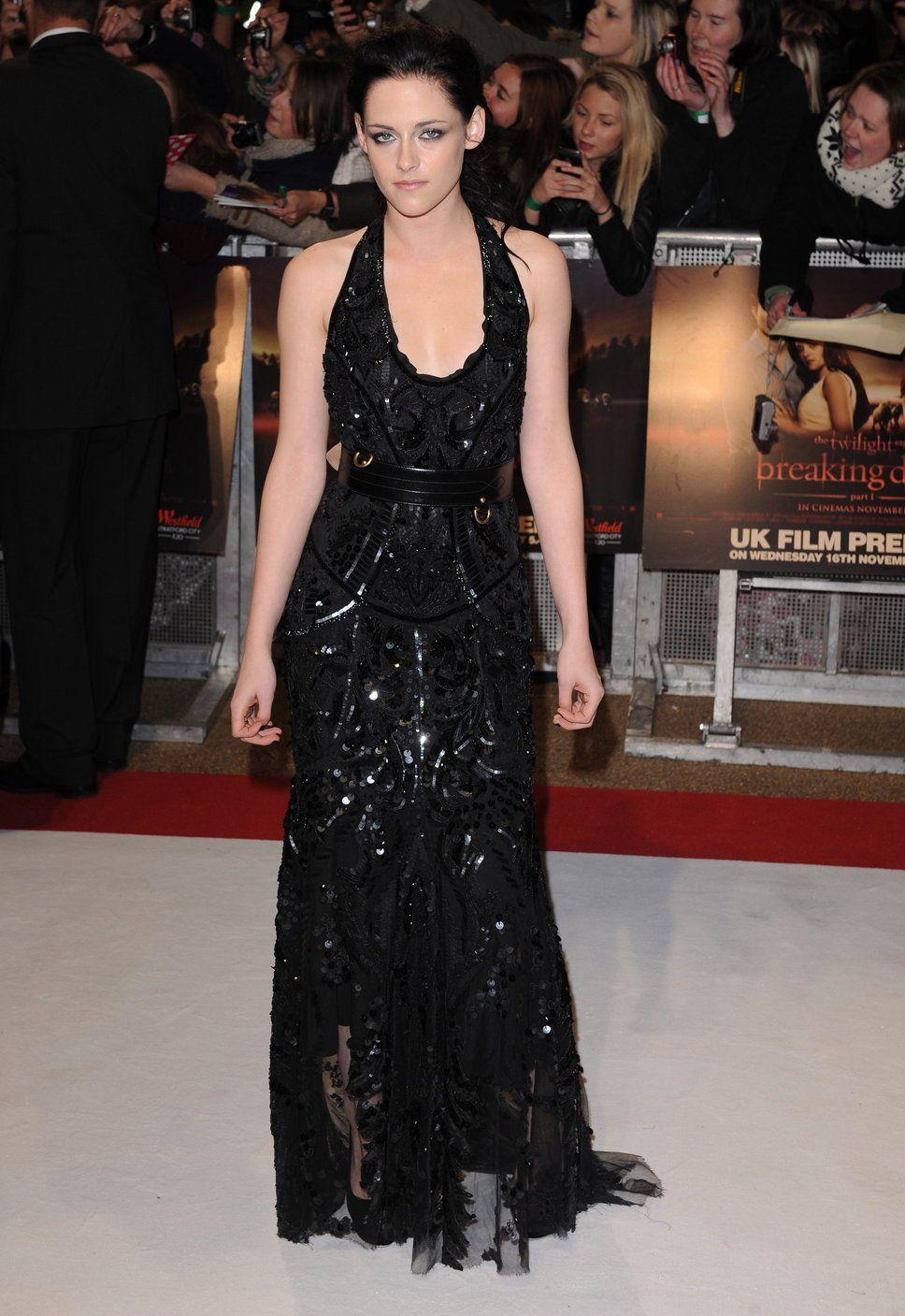 Kristen Stewart Dressing Kristen Stewart Black Glitter Dress Hair Do Twilight Premiere Photo Fashion Design Dress Dresses Formal Dresses Long [ 1407 x 968 Pixel ]