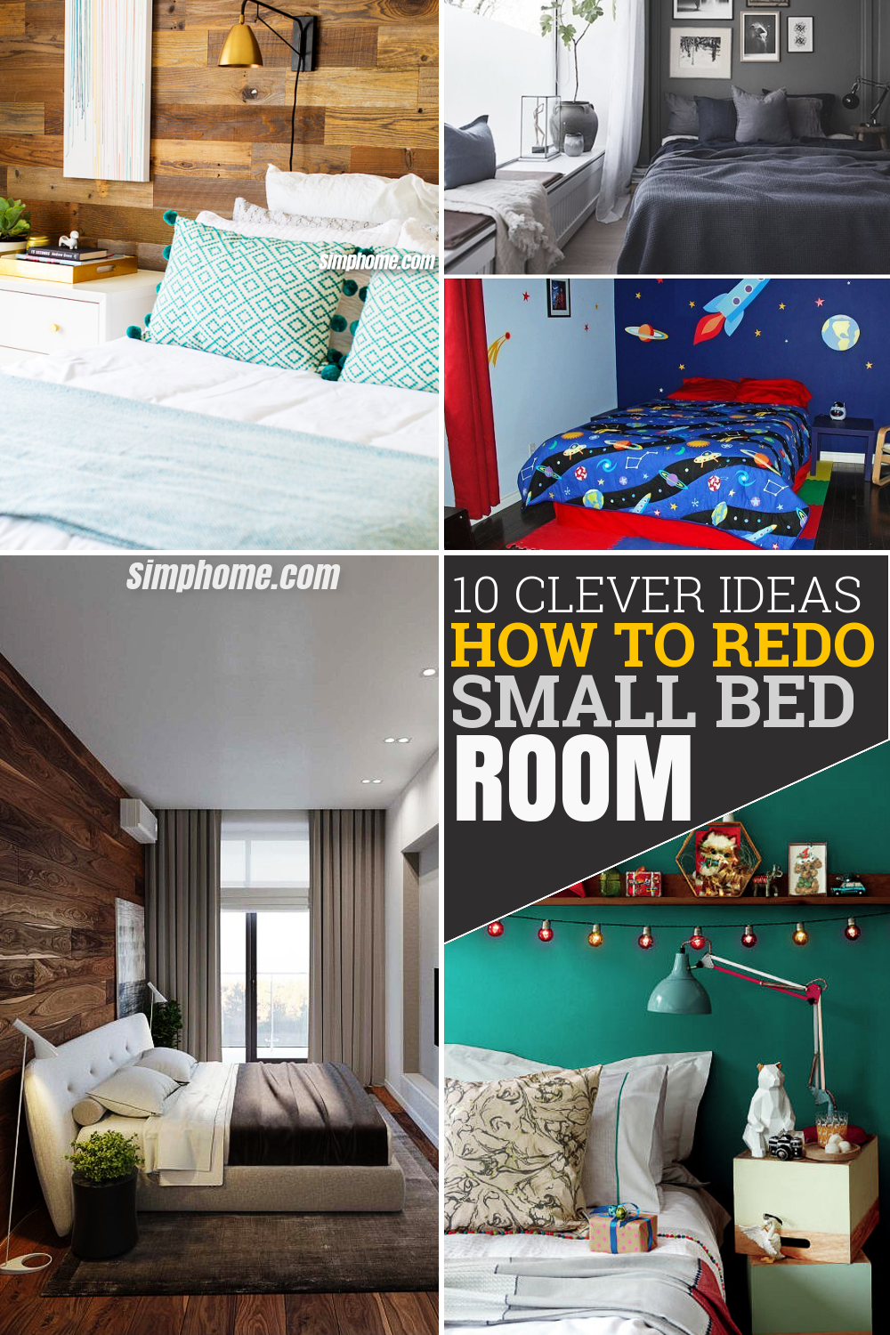 10 Clever Ideas How To Redo A Small Bedroom Simphome Small Bedroom Small Bedroom Organization Small Bedroom Storage