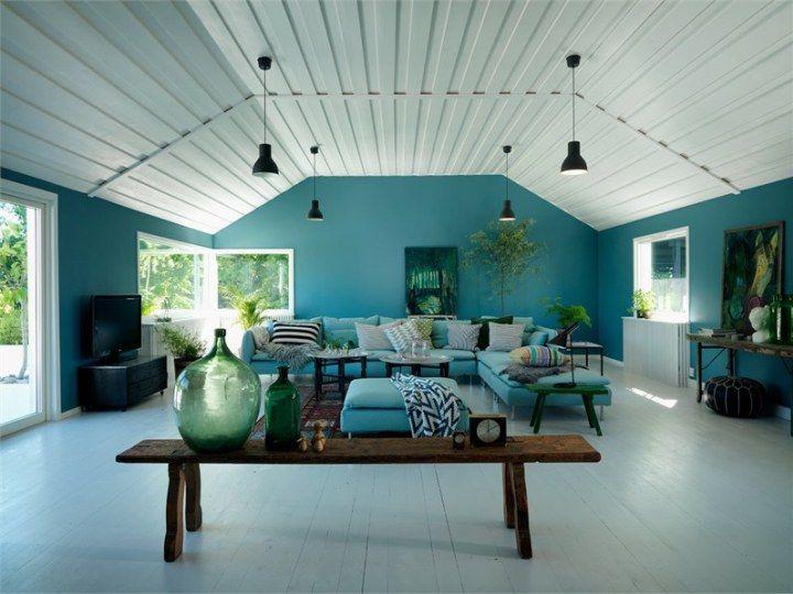 Colores Fuertes Para Una Casa Nordica Ideas Para El Hogar - Decoracion-de-interiores-de-casa