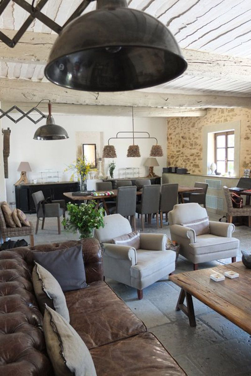 Interior Design Inspiration Rustic Chic Industrial Style Living Room Farm House Living Room Living Room Makeover French industrial living room