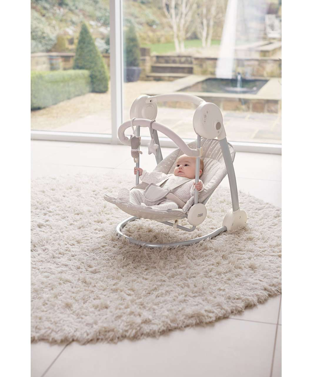 swing chair mamas and papas covers for weddings uk slumber swings doodle stars view all rockers bouncers