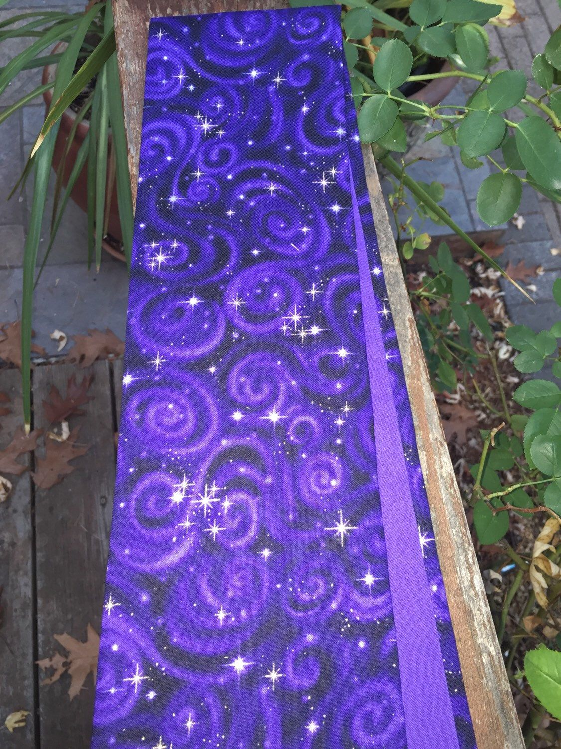 A personal favorite from my Etsy shop https://www.etsy.com/listing/254074139/clergy-stole-starry-night-sky-reversible