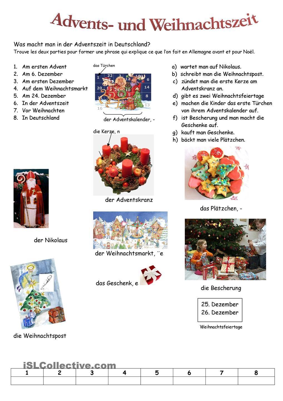 advents und weihnachtszeit german misc german language weihnachten deutsch. Black Bedroom Furniture Sets. Home Design Ideas