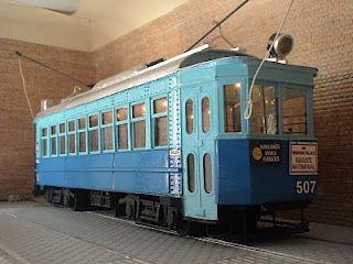 Sans Transport Tranvias De Barcelona Coche Nº 507 Línea Barceloneta Sarrià Pedralbes город