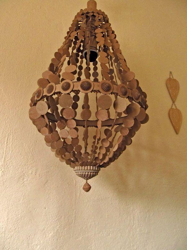 lustre montgolfi re en carton sarreve 2012 paper craft. Black Bedroom Furniture Sets. Home Design Ideas