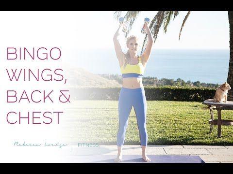 Bingo Wings, Back & Chest | Rebecca Louise - YouTube