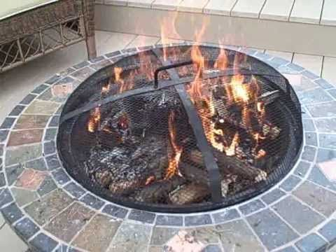 How To Start A Upside Down Fire In An Outdoor Fire Pit Fire Pit Area Rustic Fire Pits Fire Pit Decor