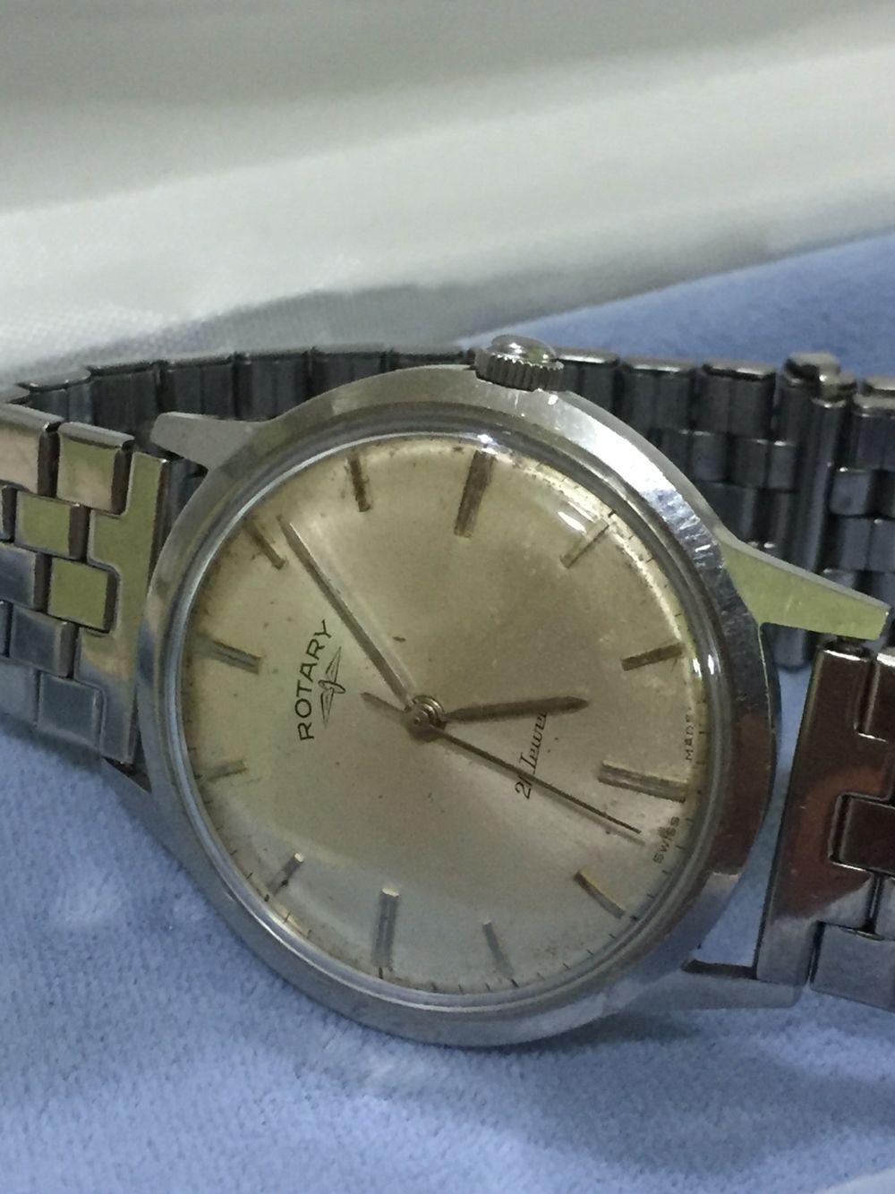 Vintage Rotary Swiss watch 1960  086f39237da