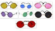 Round Frame Hippie Peace John Lennon Glasses  60s 70s 7 Colour Mens or Ladies